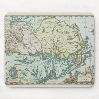 Map of Sweden Mouse Mat