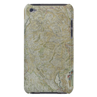 Map of Switzerland 2 iPod Case-Mate Cases