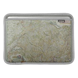 Map of Switzerland 2 MacBook Sleeve