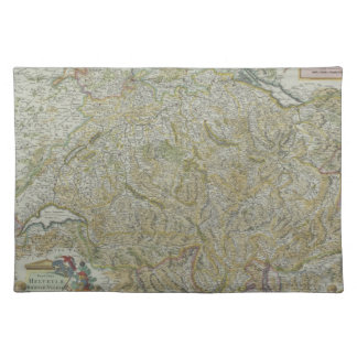 Map of Switzerland 2 Placemat