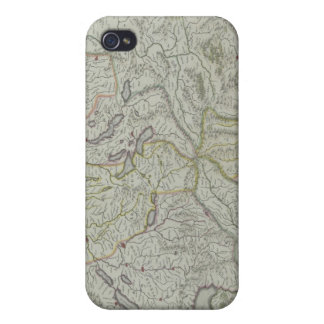Map of Switzerland Case For iPhone 4