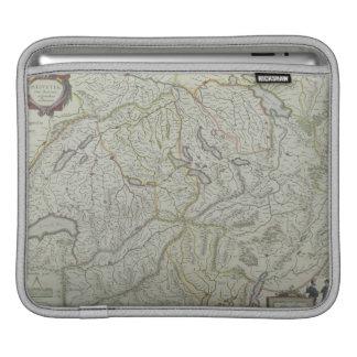 Map of Switzerland iPad Sleeve