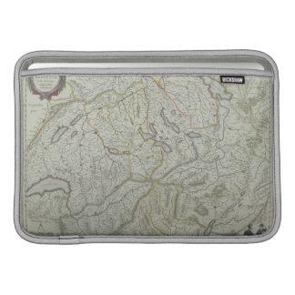 Map of Switzerland MacBook Sleeve