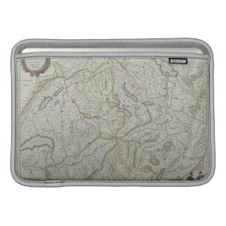 Map of Switzerland Sleeve For MacBook Air