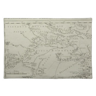 Map of Tartaria in China Placemats