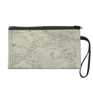 Map of Tartaria in China Wristlet