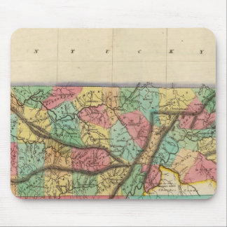Map Of Tennessee Mouse Pad
