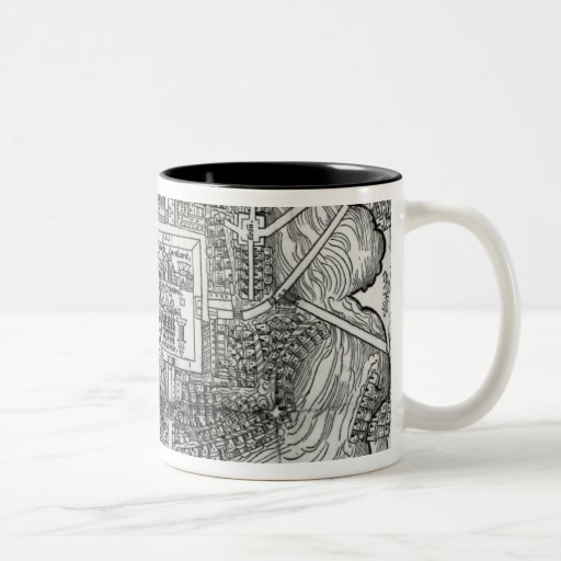Map of Tenochtitlan Coffee Mug