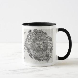 Map of Tenochtitlan Mug