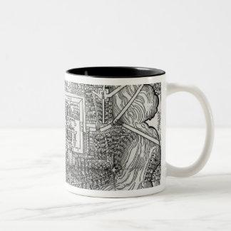 Map of Tenochtitlan Two-Tone Coffee Mug