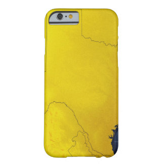 Map of Texas 3 Barely There iPhone 6 Case