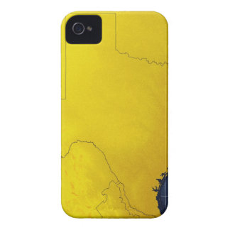 Map of Texas 3 iPhone 4 Cover