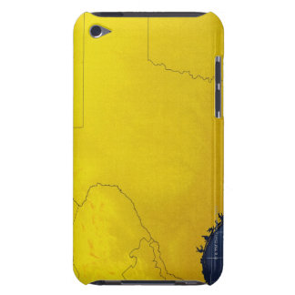 Map of Texas 3 iPod Case-Mate Case