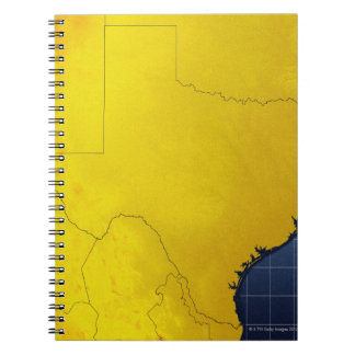 Map of Texas 3 Notebooks