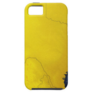 Map of Texas 3 Tough iPhone 5 Case