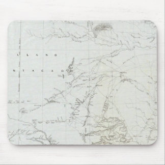 Map of Texas and part of New Mexico Mouse Mat
