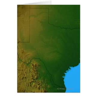 Map of Texas Card