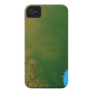 Map of Texas iPhone 4 Case