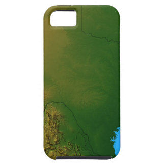 Map of Texas iPhone 5 Cases