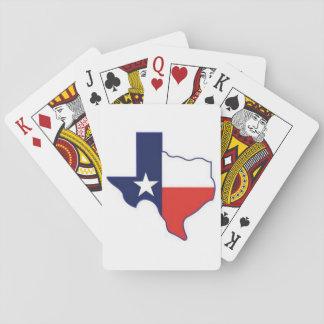 MAP OF TEXAS POKER DECK