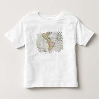 Map of the Americas, published by Homann, 1746 (co Toddler T-Shirt