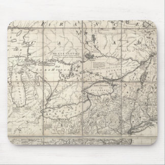 Map of the British and French Dominions Mouse Pad