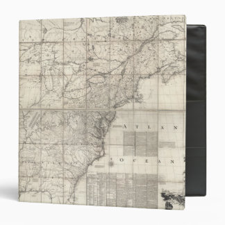 Map of the British and French Dominions Vinyl Binders