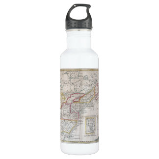Map of the British Dominions in 1763 710 Ml Water Bottle