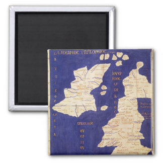 Map of the British Isles, from 'Geographia' Square Magnet