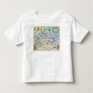 Map of the Caribbean islands Tees