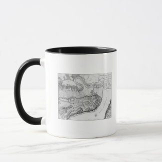 Map of the city and environs of Quebec Mug