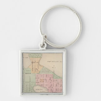 Map of the City of Albert Lea, Minnesota Key Ring