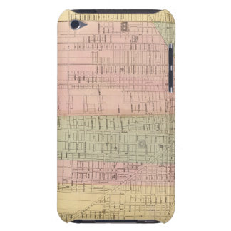 Map of the City of Detroit Case-Mate iPod Touch Case