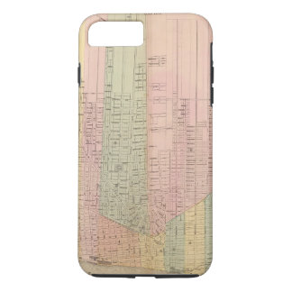Map of the City of Detroit iPhone 7 Plus Case