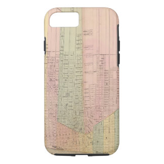 Map of the City of Detroit iPhone 8/7 Case
