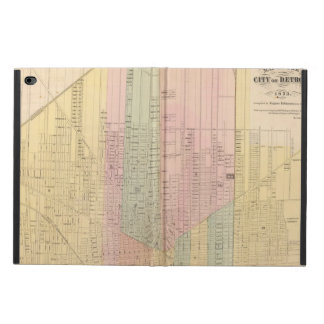 Map of the City of Detroit Powis iPad Air 2 Case