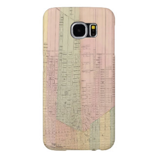Map of the City of Detroit Samsung Galaxy S6 Cases