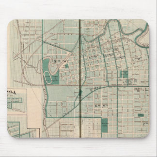 Map of the City of Fort Wayne with Cedarville Mouse Pad