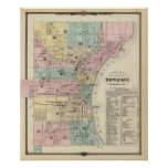 Map of the City of Milwaukee, Milwaukee Co