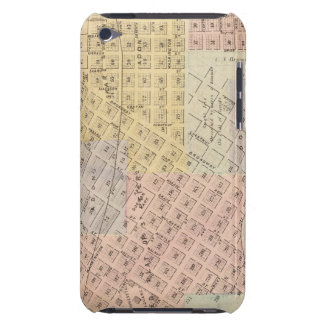 Map of the City of St. Peter, Minnesota Case-Mate iPod Touch Case
