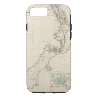 Map of the Colony of New Zealand iPhone 7 Case