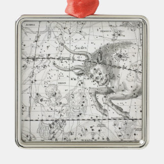 Map of The Constellations Plate XIV Christmas Ornament