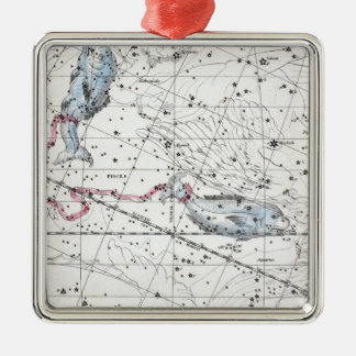 Map of The Constellations Plate XXII Christmas Ornament