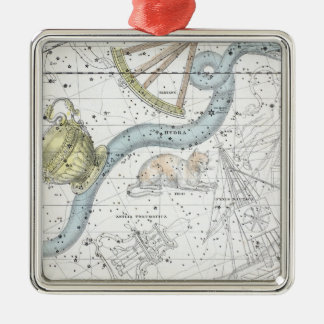 Map of The Constellations Plate XXVI Christmas Ornament