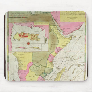 Map of the Countries of Africa Mouse Mat