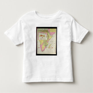 Map of the Countries of Africa Toddler T-Shirt