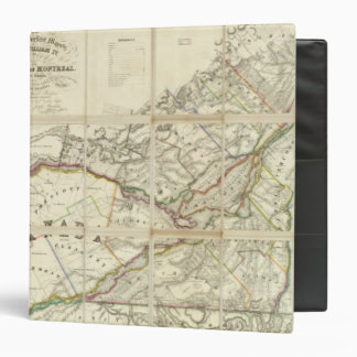 Map of the District of Montreal, Lower Canada 3 Ring Binders