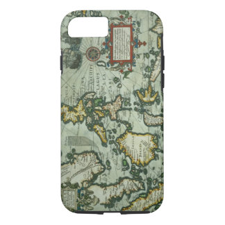 Map of the East Indies, pub. 1635 in Amsterdam (ha iPhone 8/7 Case