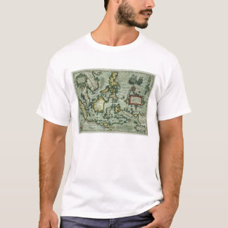 Map of the East Indies, pub. 1635 in Amsterdam (ha T-Shirt