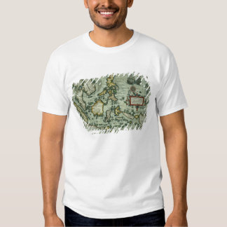 Map of the East Indies, pub. 1635 in Amsterdam (ha Tee Shirts